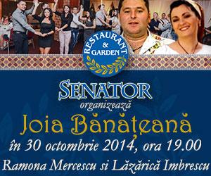 Joia Banateana la Restaurant Senator