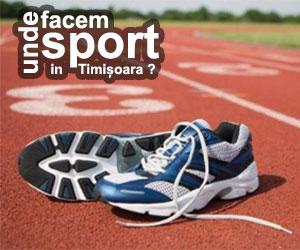 Unde facem sport in Timisoara