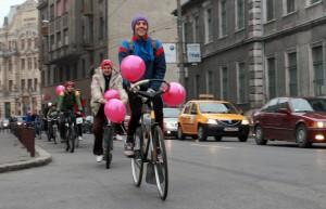 verde pentru biciclete roz 2