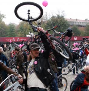 verde pentru biciclete roz 5