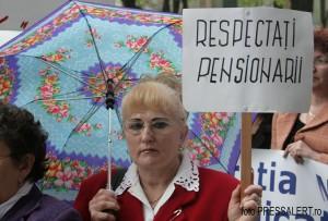 miting pensionari