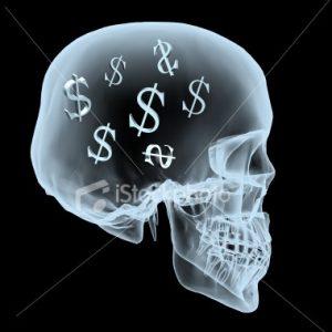 craniu cu bani