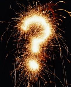 semn intrebare artificii