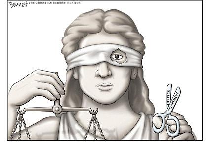 Justitia oarba