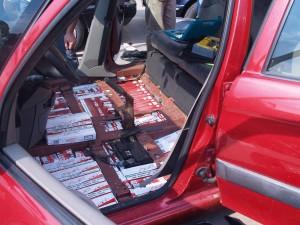 masina tigari contrabanda