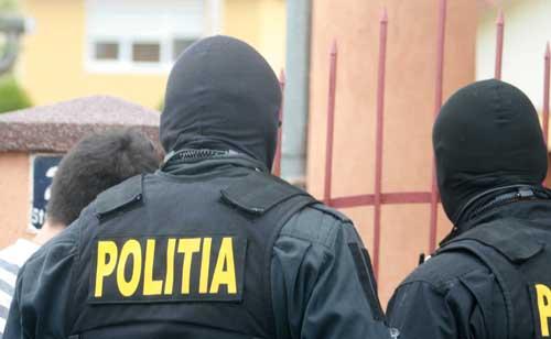 politia mascat spate