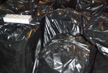 Țigări de contrabandă, confiscate dintr-un BMW