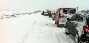 Atenție, șoferi! Risc de polei pe drumurile din județul Timiș. Cât timp este valabilă atenționarea