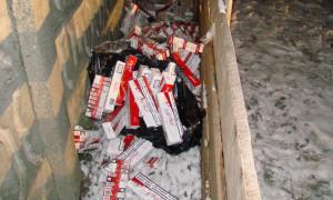 tigari contrabanda abandonate 1