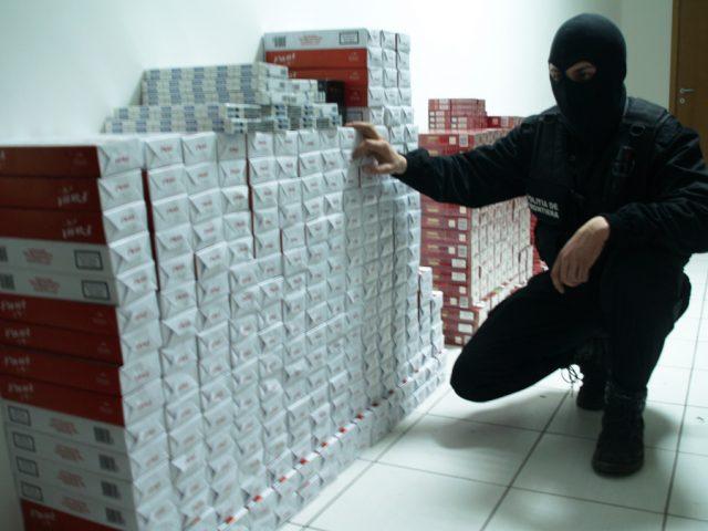 mascat politia de frontiera tigari contrabanda