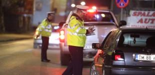 Sute de amenzi, zeci de permise reținute și dosare penale pentru șoferii timișeni, în doar trei zile. Pentru ce abatere s-au dat cele mai multe sancțiuni