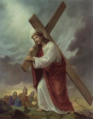 Iisus carand crucea