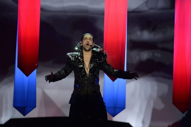 Romania's Cezar performs during the second semi-final of the 2013 Eurovision Song Contest in Malmo