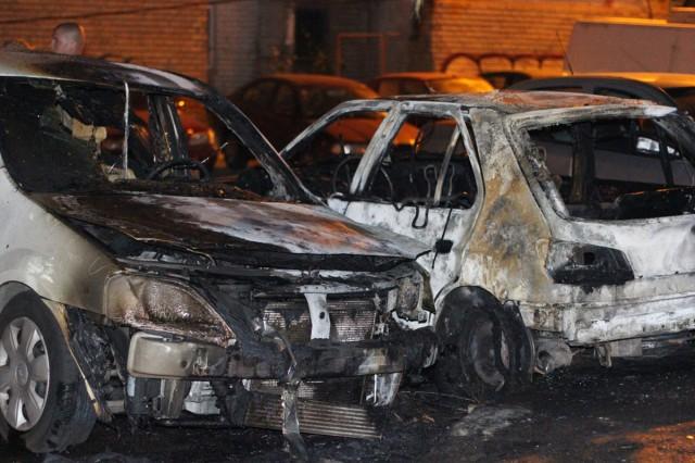 masini incendiate 1