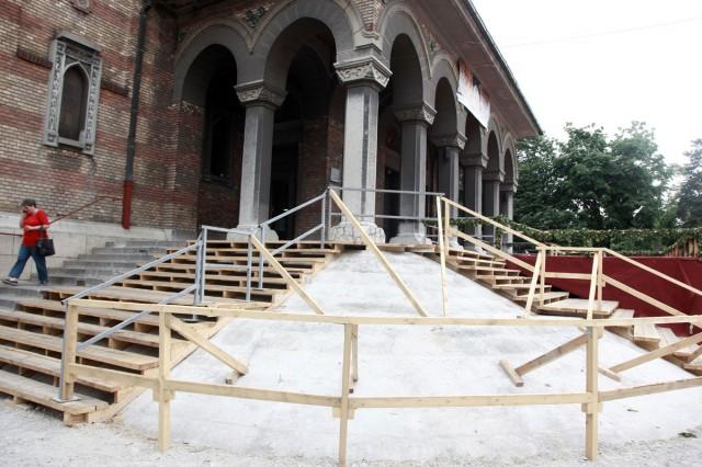 refacere trepte catedrala
