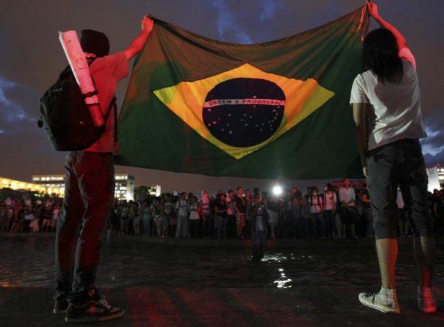brazil-protests-flag