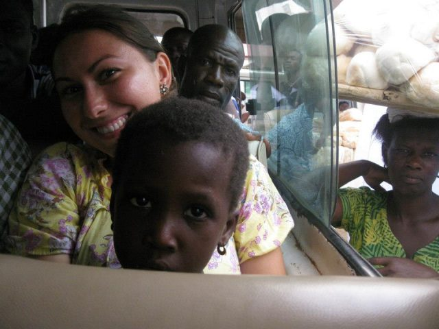 corina goruian voluntar africa 2