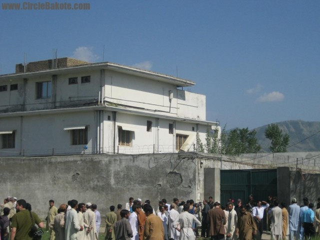 Casa în care a fost ucis Osama Bin Laden