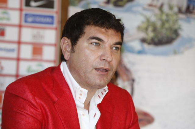 Conferinta de presa a echipei de fotbal Dinamo, in Belek, Turcia. 11.02.2012