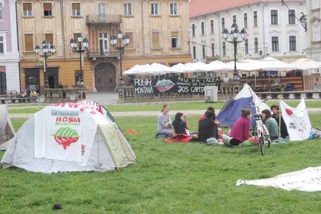 protest rosia montana piata unirii 1