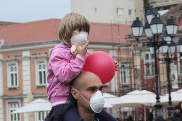 protest timisoara poluare 1