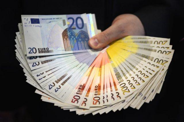 Gefaelschte Euro-Scheine