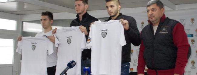 ACS Poli și-a prezentat noile achiziții. Ce au spus cei trei fotbaliști transferați
