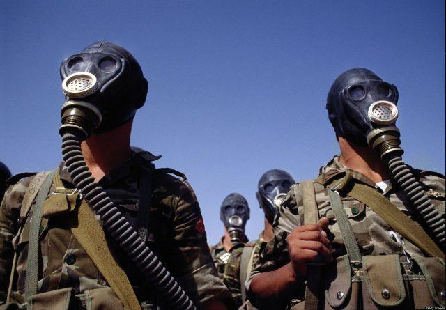 soldati masti de gaze