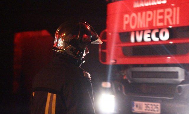 pompier masina noapte 1