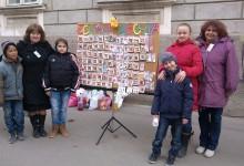 De ce au făcut cu mâna lor 2.000 de mărţişoare un grup de elevi din Pişchia