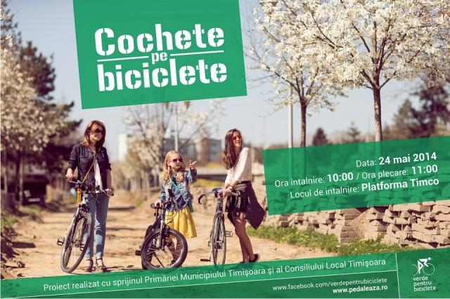cochete pe biciclete 1