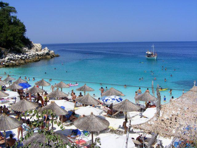 thassos grecia marble beach