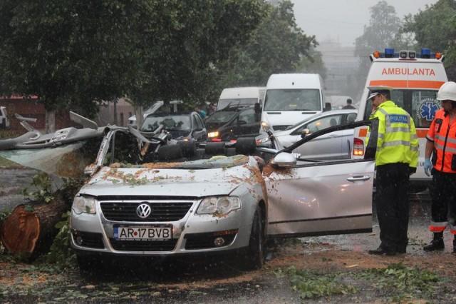 accident masina arad