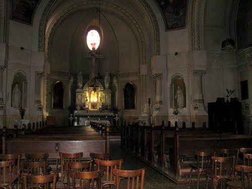 biserica piaristi interior