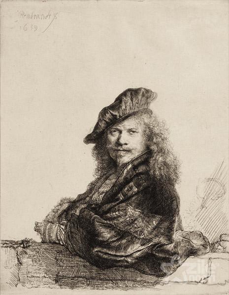 rembrandt - autoportret