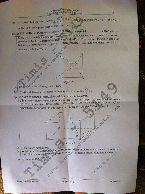 subiecte matematica evaluarea nationala 2014 (1)