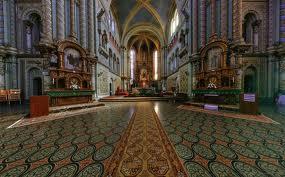 biserica millenium interior