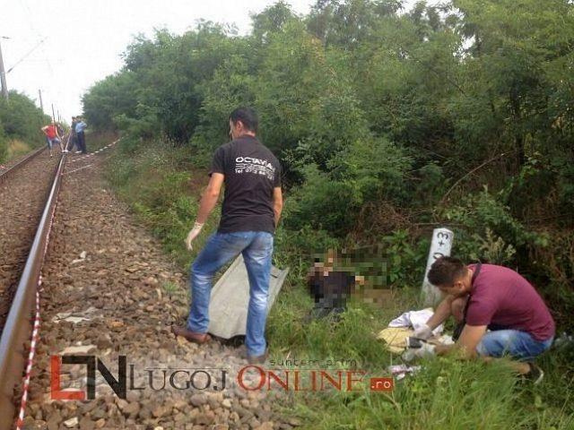 cadavru calea ferata