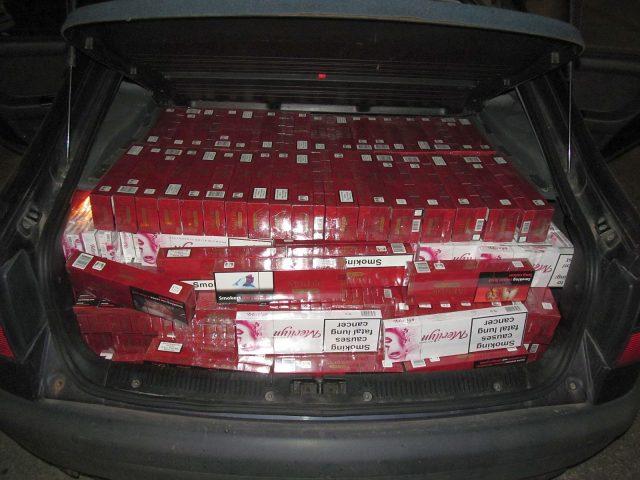 portbagaj tigari contrabanda