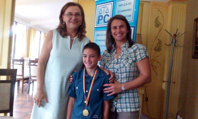 copil medaliat