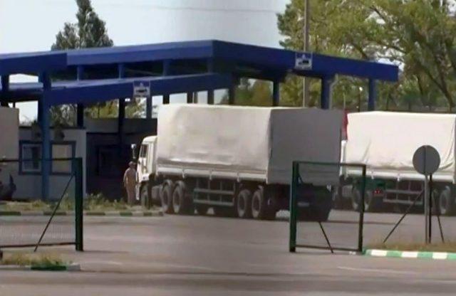 convoi rusesc in ucraina