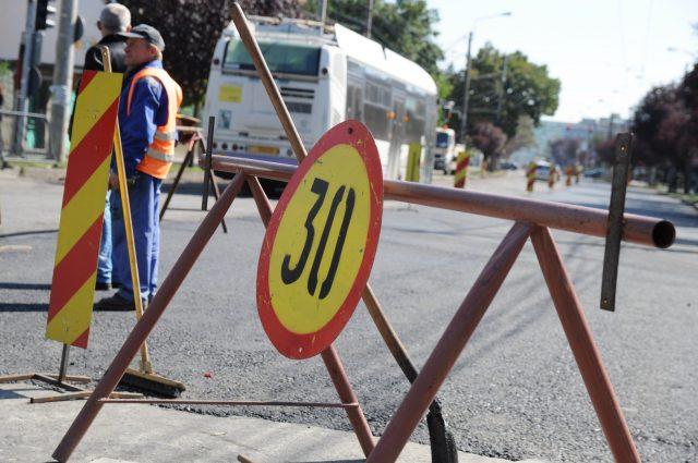 lucrari strada cluj trafic (17)
