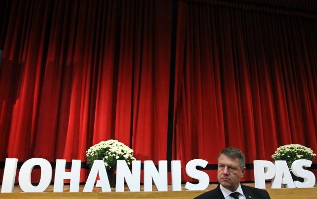 Klaus Iohannis, candidatul la Presedintia Romaniei al PNL - la Timisoara 01.jpg