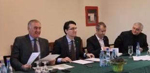 FOTO Răzvan Burleanu a vorbit cu membrii afiliați din Banat despre viitorul fotbalului românesc. FRF colaborează și cu Universitatea Politehnica pentru Centrul de Excelență