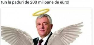 """HALUCINANT Liderul PSD Timiş, promovat pe Facebook cu aripi de înger şi lăudat că a """"rămas doar în calitate de suspect"""" în ancheta procurorilor"""