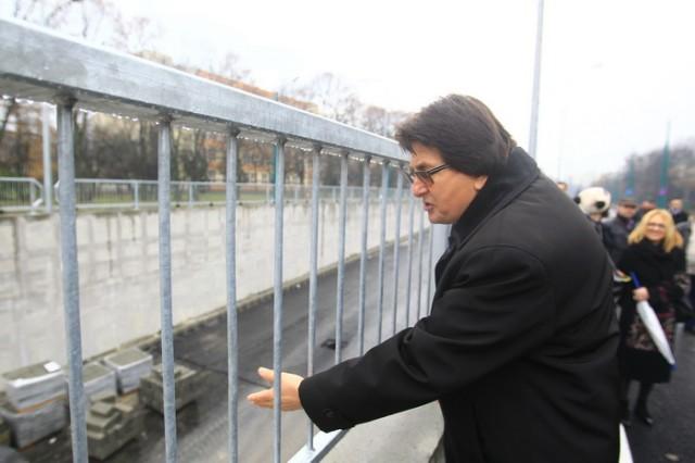 Deschiderea circulatiei pe Parvan intersectia cu Michelangelo  20 Decembrie 2014 16