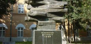 Despre monumente şi eroi (II). Povestea monumentelor din Timișoara dedicate Revoluției din 1989. Figura Umană FOTO
