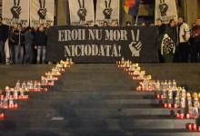 25 de ani! Sute de timișoreni i-au comemorat pe EROII din '89 la marșul organizat de suporterii alb-violeți GALERIE FOTO