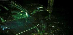 ACCIDENT Un bărbat a ajuns în stare GRAVĂ la spital, după ce s-a izbit cu maşina de un pom. Ce motiv a invocat