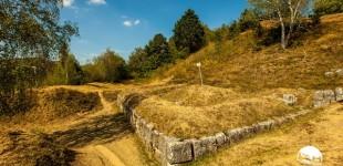 Pe urmele dacilor: uluitoarea Cetate de la Costești, unică în Europa. Ce rol important avea când a fost construită, acum 2.000 de ani FOTO